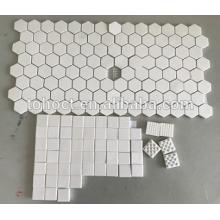 Alumina/ Al2O3 / Zirconia Hexagon ceramic tile brick