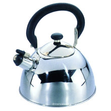1.8L mirror polish stainless steel whistling kettle