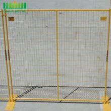 Retractable Safety Construction Midlertidig Fence Panel