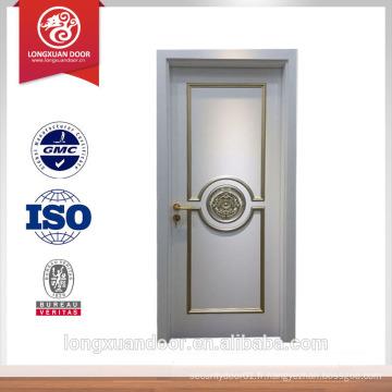 Porte porte en bois massif porte villa porte taillée en bois utilisée pour la position intérieure Choix du fournisseur