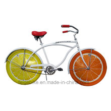 2015 Attractive Advertisement Bike Wheel Card Beach Bicycle (FP-BCB-C040)