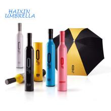 Производство Китай популярные оптовые дешевые творческий 21 дюймов ручной бутылки складной зонтик Выдвиженческого подарка с принтами логотипа