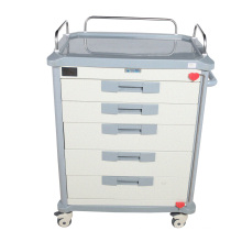 2021 hot sale hospital  operating room ABS material emergency trolley