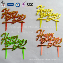 Cheap Price Happy Birthday Cake Decoration
