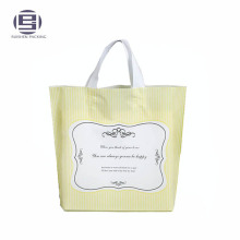 Biodegradable PE Plastic Frosted Shopping Bag With Handle
