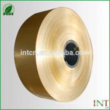 aleación de cobre amarillo cinta de latón H70 CuZn30 C26000