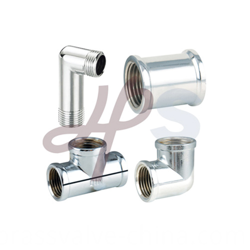 Brass Thread Fitting With Polishing Surface H858