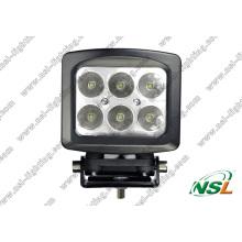 5 Zoll 6PCS * 10W CREE 60W LED Off Road Nebelscheinwerfer Wasserdichte Hochleistung für LKW (NSL-6006S-60W)