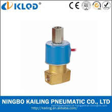 Válvula de solenóide de controle de água de 2 vias de preço baixo série Qx 24V