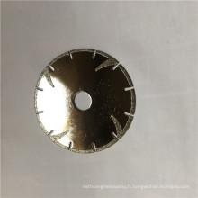professionnel peut être personnalisé marbre granit pierre diamant disque abrasif lame cutter