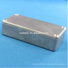 Caixa de alumínio Daier hammond 1590g die cast cerco