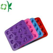 Diseño de moldes de silicona para hacer moldes de chocolate.