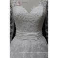 Robe de mariée WX1555 à manches longues avec motif arc-en-ligne design de votre propre robe de mariée