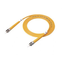 Cordon de raccordement à fibre optique ST UPC à mode unique, câble de fibre optique 9/125 ST