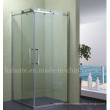 Modern Design Tempered Glass Shower Enclosure with Stainless Steel Frame (LTS-002)