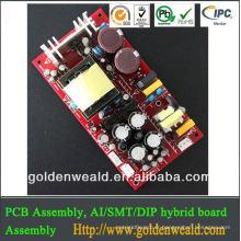 amplificateur audio pcb production layout pcb assembly Charge d'énergie mobile PCBA usine