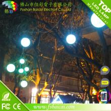 LED Round Ball Christmas Lights DMX (white ball string)