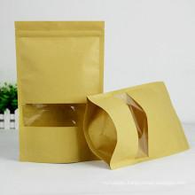 Kraft Paper Bag for Food Nut Coffee Bean Sugar logo customized