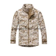 Chaqueta militar de Camo Softshell de la marina impermeable y respirable