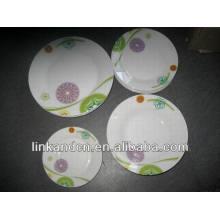 Haonai italian ceramic dinnerware plate sets,dinnerware set