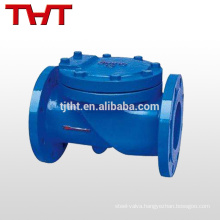 water sewage flap check valve/ air stainless steel non return valve