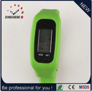 Geschenkuhr Pedometer Armbanduhr Silikon Armbanduhr (DC-001)