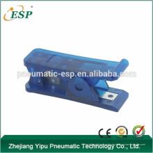 Cortador de tubo plástico de alta calidad de la manguera de aire de ESP, cortador de herramienta, cortador de tubo de nylon