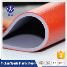 ISO9001 1.2mm~1.5mm Wear Layer Soft PVC Flooring Roll for table tennis court