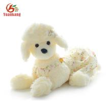 Filhotes De Cachorro Preto Branco Filhote De Cachorro Poodle Personalizado Lifelike Stuffed Toy Dog French Plush Poodle Para Venda