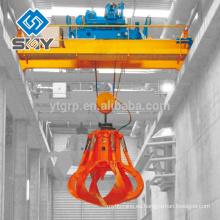 50 toneladas de doble Girger de arriba / puente cangrejo grúa para Workshorp embalaje estándar