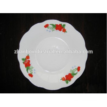 Best welcome hotel and restaurant deep plate, porcelain deep plate wholesale