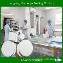 Produits désinfectants écologiques pour l'hôpital / dioxyde de chlore / sécurité pour la désinfection du corps humain