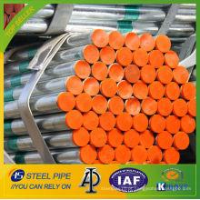 Fornecimento de água Tubos de aço de revestimento Plástico