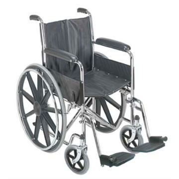 standard wheelchair with plastic Mag wheel