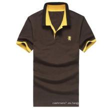 Camiseta del polo de 2016 nuevos hombres del diseño de la manera