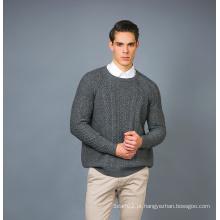 Men's Fashion Cashmere Blend Sweater 17brpv075