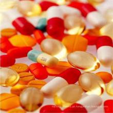 Comida de saúde básicos nutricionais vitamina B1 injeção