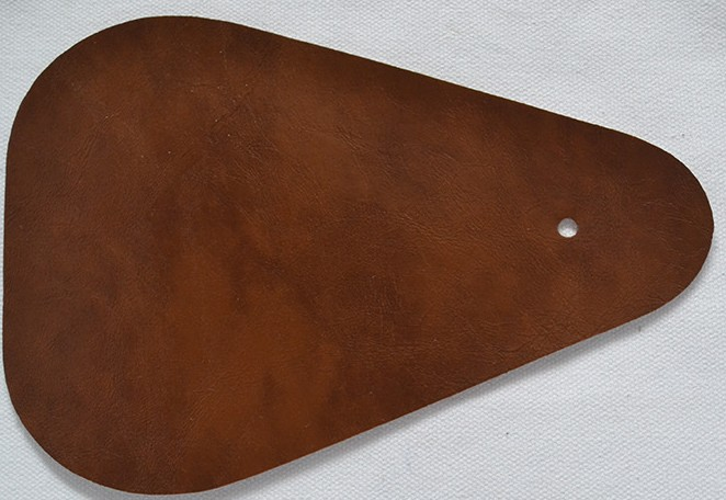 dark brown-oil wax artificial sofa leather