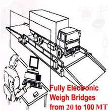 Mobile Weigh Bridge for Lorry