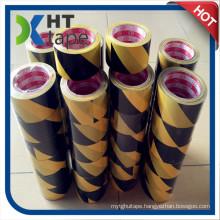 PVC Black and Yellow Floor Tape