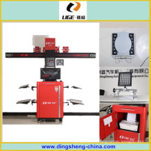 Roue 3D aligneur pneus aligneur usine Ds-9