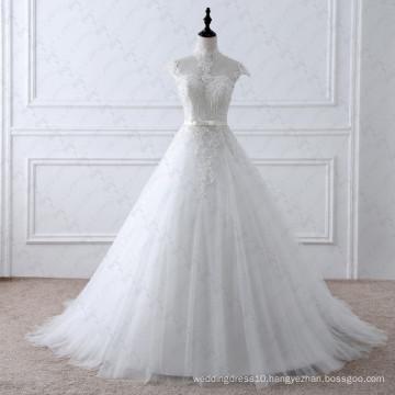 LZ175 Alibaba Romantic Empire Vintage Lace Wedding Dresses Dresses Women Elegant