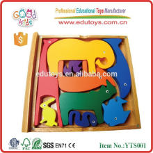Educational Fun Learning Wooden Toys Puzzle book