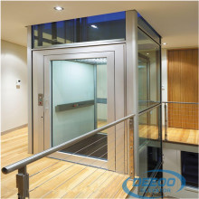 Glass Indoor Electric Villa Elevator Small Home Lift