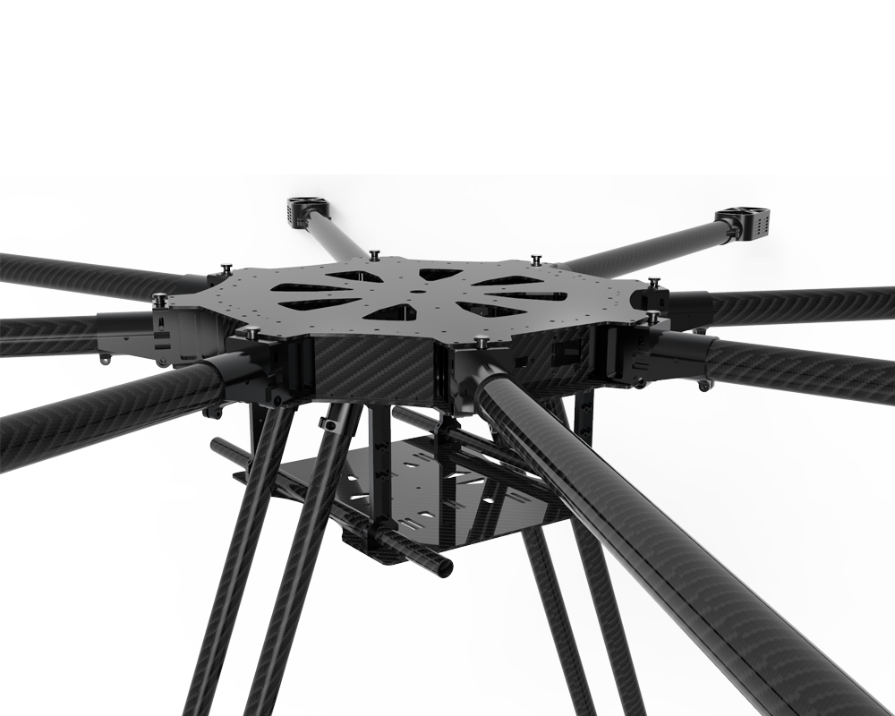 JMRRC DIY 1300mm Foldable Octocopter Drone Frame Kit