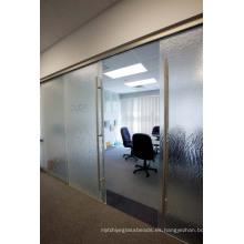 Puertas de vidrio interiores / vidrio transparente de la hoja / puerta del vidrio de la sala