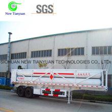 8 CNG Jumbo Tubes CNG Цилиндровый контейнерный полуприцеп