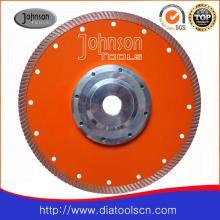 Lame de scie à diamant fritté à turbine: 230 mm