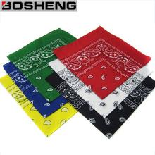 Bandana 100% de la bufanda del pañuelo de Paisley Headwear del algodón