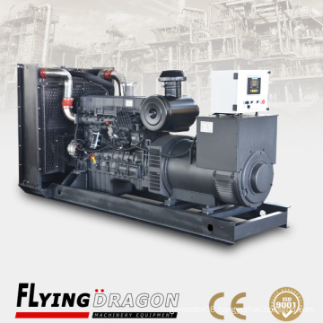 120KW Dongfeng marine generator 400V for works boats powered by Shangchai 6135AZD-1 engine with CCS class
